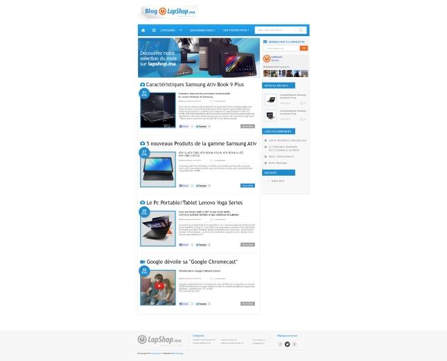 Votre Blog change d'adresse et de de Look